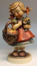 """Goebel Hummel Figurine Autumn Harvest 355 Tmk5 4 3/4"""" Tall"""