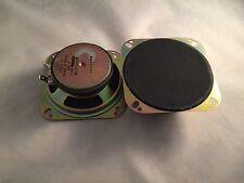 4 inch speaker pair  auto OEM replacement universal
