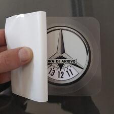 Disco Orario Adesivo Gadget Auto Personalizzato Mercedes