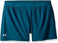 "Under Armour Men speedpocket 5"" Shorts Men's Tourmaline Teal/Tropical Tide mediu"