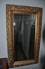 Antique Large Gold Leaf Beveled Mirror from Crab Orchard (KY) Springs