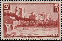 "FRANCE - 1938 - 3fr ""Palais des Papes, Avignon"" Yv.391 / Mi.412 - Neuf** / MOGNH"