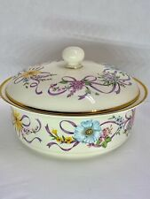 FREE SHIP * LENOX The Constitution Covered Server Dish 2002 Final Issue