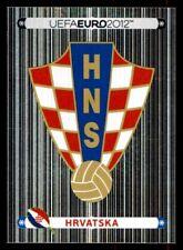 Panini Euro 2012 (Swiss Platinum Edition) Badge (Croatia) No. 369