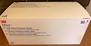 3M Attest 1291Rapid Readout BiologicalIndicator PKG (1 Box of 50)