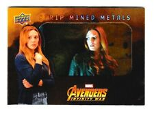 Upper Deck Infinity War Strip Mined Metals SMM8 Scarlet Witch