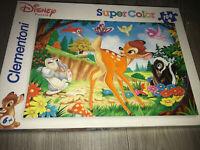 Clementoni Disney Puzzle Super Color- Bambi 104 Pieces