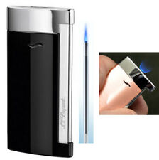 S T Dupont Slim 7 Lighter - Black Lacquer and Chrome finish (027700)