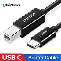 Ugreen USB C to USB 2.0 Type B Cable Type C Printer Scanner Cord for MacBook Pro