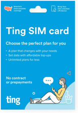 Ting Mobile Sim Card kit for Unlocked Phones - Bring Your own Compatible Phones
