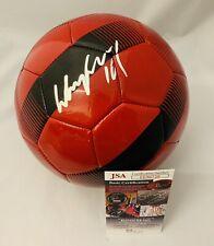 WAYNE ROONEY SIGNED MANCHESTER UNITED SOCCER BALL ENGLAND AUTOGRAPH+JSA COA!