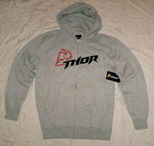 THOR Sweatjacke Kapuze FUSION Sweatshirt Hoody NEU M Honda Grau Hoodie CR-F KTM