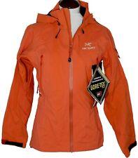 Arc'teryx Theta Ar Jacket New Womens sz Xs Gore-Tex Pro Carnelian Orange
