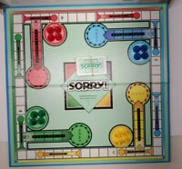 VINTAGE 1992 SORRY SLIDE PURSUIT BOARD GAME PARKER BROTHERS 100% COMPLETE