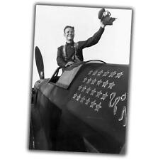 "Mikhail Baranov-fighter pilot, Hero of the Soviet Union Photo WW2 ""4x6"" J"