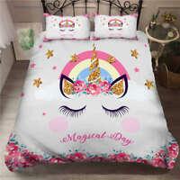 Eyelash Pink Blush 3D Printing Duvet Quilt Doona Covers Pillow Case Bedding Sets