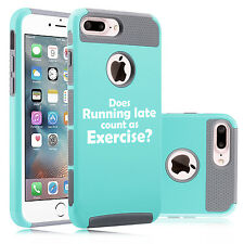 For iPhone SE 5s 6 6s 7 Plus Shockproof Case Does Running Late Count As Exercise