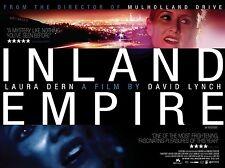 Inland Empire Original 2007 UK Quad Poster (David Lynch Laura Dern Jusin Theroux