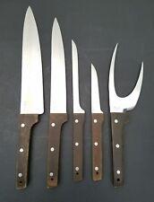VTG Vernco Japan Hand Honed HI - CV Stainless Cutlery Knife & Fork Set (5 Pcs.)