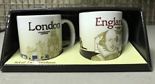 starbucks city demi mug ceramic LONDON/ENGLAND 3 oz with SKU