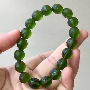 Natural Moldavite Crystal Bracelet