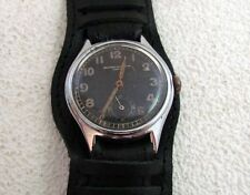 RECORD DH D508695H Geneve 022K Swiss for German Army WWII Wehrmaht vintage watch