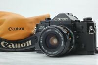 *N MINT++* Canon A1 Black 35mm Film Camera w/ FD 28mm f/2.8 Lens from JAPAN