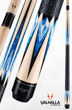 Valhalla Viking VA471 Blue Black Pool Cue Stick Linen 21 oz LIFETIME WARRANTY