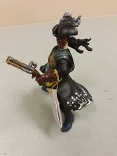 Papo 2005 Leather Mask Figurine With Gun New With Tags!