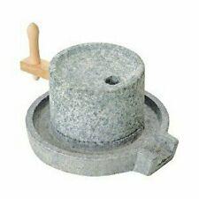 Ishigaki Small Stone mill Stone mortar Millstone 3.6kg Brand New #13317