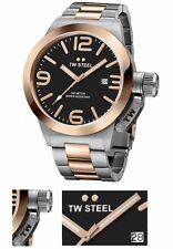 TW STEEL Herren Armbanduhr Chronograph Uhr Massive Herrenuhr inkl. Uhrenbox
