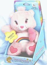 "Care Bears Plush Baby Talking Cheer Pink Stuffed 9"" 2002 NWT NON-WORKING NRFB"