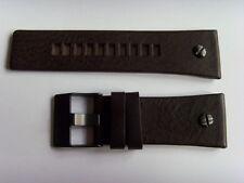 DIESEL Original Ersatzband Lederarmband DZ7126 Uhrband braun 29 mm