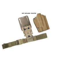 TMC Thigh Strap Tactical Elastic Band Extend Strap for Leg Thigh Holster BK/CB
