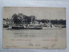CPSM Rochefort sur Mer Arsenal le Pétrel et le Qui-Vive