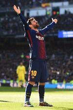 Poster A3 Lionel Messi Barça Futbol Club Barcelona Futbol Football Cartel 11