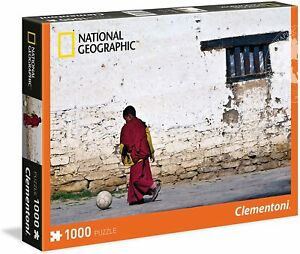 Clementoni Puzzle National Geographic Young Bouddhiste Monk 1000 Pièces Moine