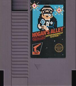 HOGAN'S ALLEY (1985) nes nintendo black label classic 5-screw us NTSC USA IMPORT