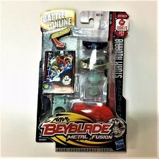 Rare Hasbro Beyblade METAL FUSION Storm Aquario 100HF/S BB37 Figure Boy Toy Game