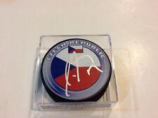 Radim Vrbata Signed Team Czech Republic Hockey Puck Autographed b