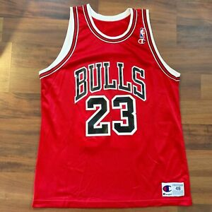 Champion Chicago Bulls Michael Jordan #23 NBA Jersey Size 48