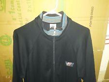 Vintage 1980s Nike John McEnroe Like Blue Full Zip Warmup Jacket Size Large