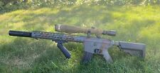 Airsoft M4 DMR, Mosfet, Upgraded, Extras