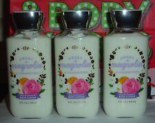 3 Bath & Body Works SWEET MAGNOLIA & CLEMENTINE BODY LOTION - 8 oz each!