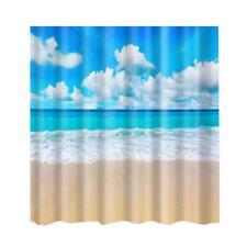 Barre de plage # 3 Rideau de douche Décor de salle de bain ordinaire avec