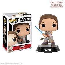 Star Wars - Rey with Lightsaber Episode 7 The Force Awakens Pop! Vinyl Figure