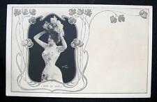 FRANCE LIANE DE VRIES 1900-10s FRENCH ACTRESS ART DECO REUTLINGER PARIS