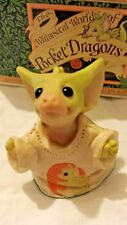Rl � Pocket Dragons Dragon * �Mint in Box� * Perfect Fit * 1998 *