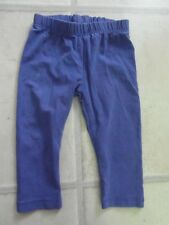 Pre-Owned BABY GIRL ROYAL BLUE LEGGINGS Age 3 - 6 Months - from MONSOON -