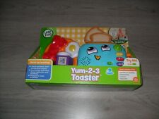 Leapfrog Yum-2-3 Toaster Sound & Colours Educational Preschool Toy - NEW